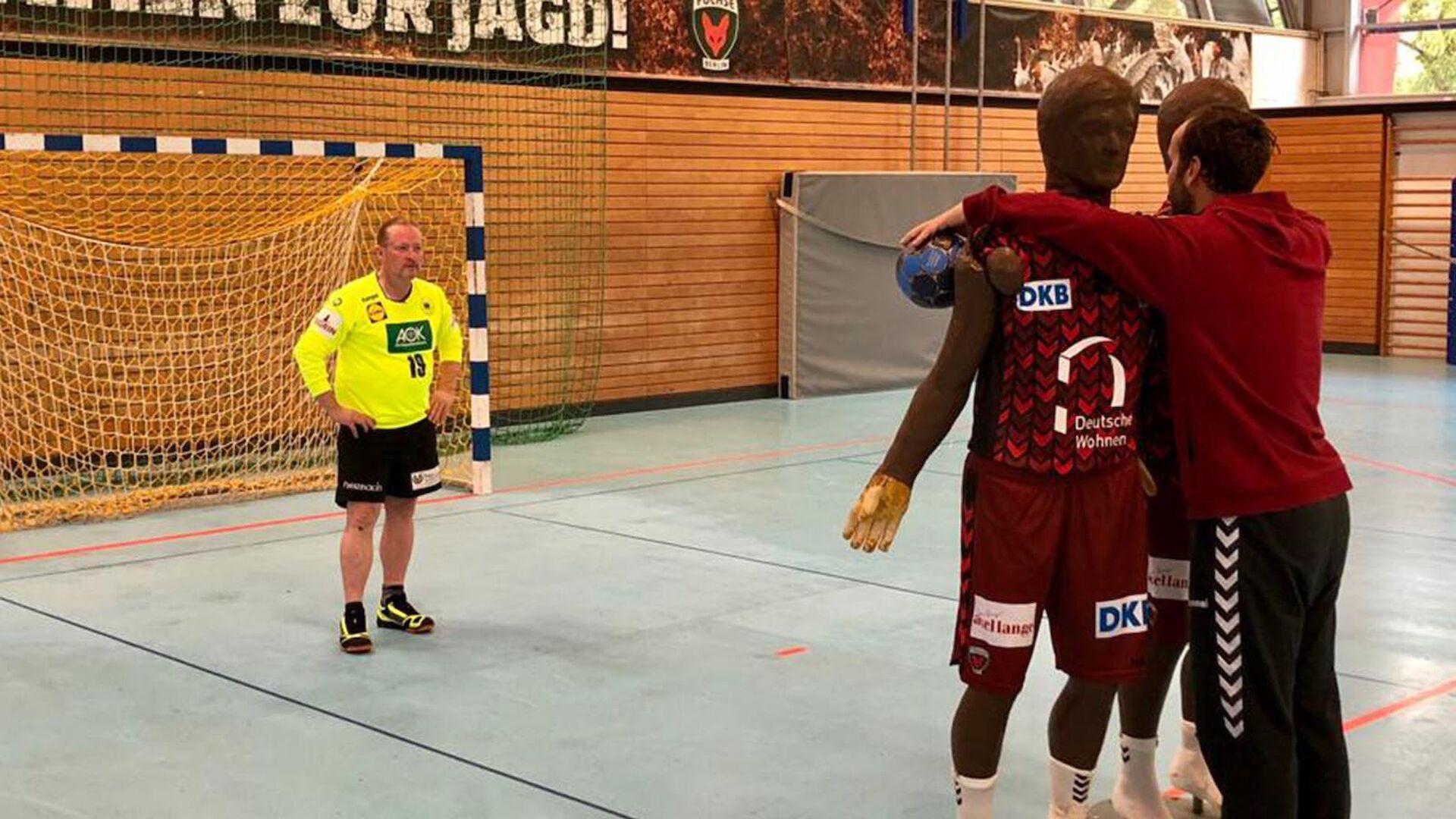 Handball Trifft Mit Silvio Heinevetter Und Joey Kelly